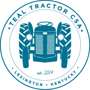 Teal Tractor CSA