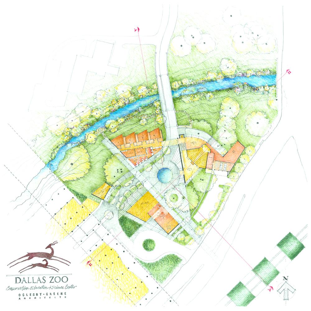 Dallas Zoo CESC OGLESBY GREENE ARCHITECTS AWARD WINNING DALLAS FIRM