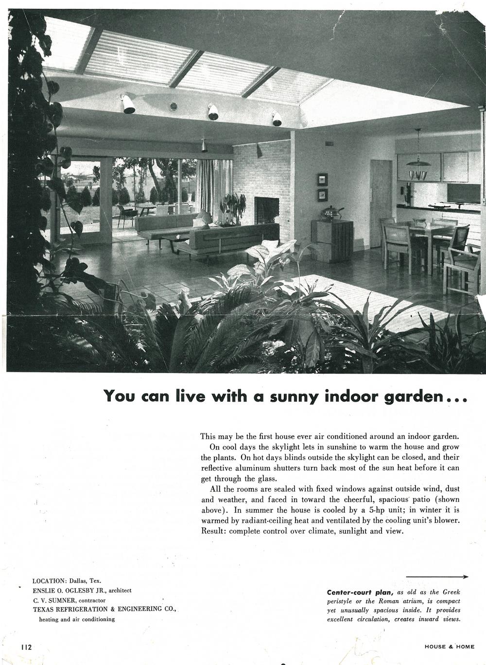 House & Home 1954