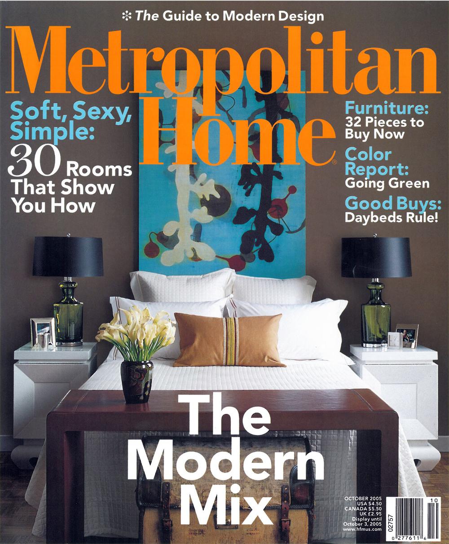 Metropolitan Home October 2005