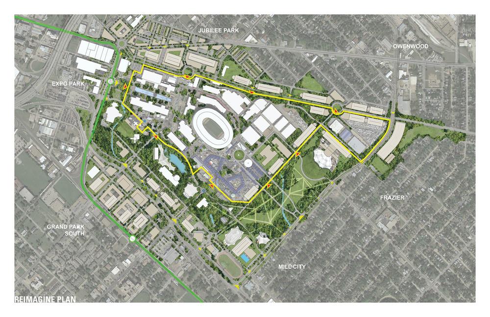 Reimagine Fair Park Oglesby Greene Architects Award Winning