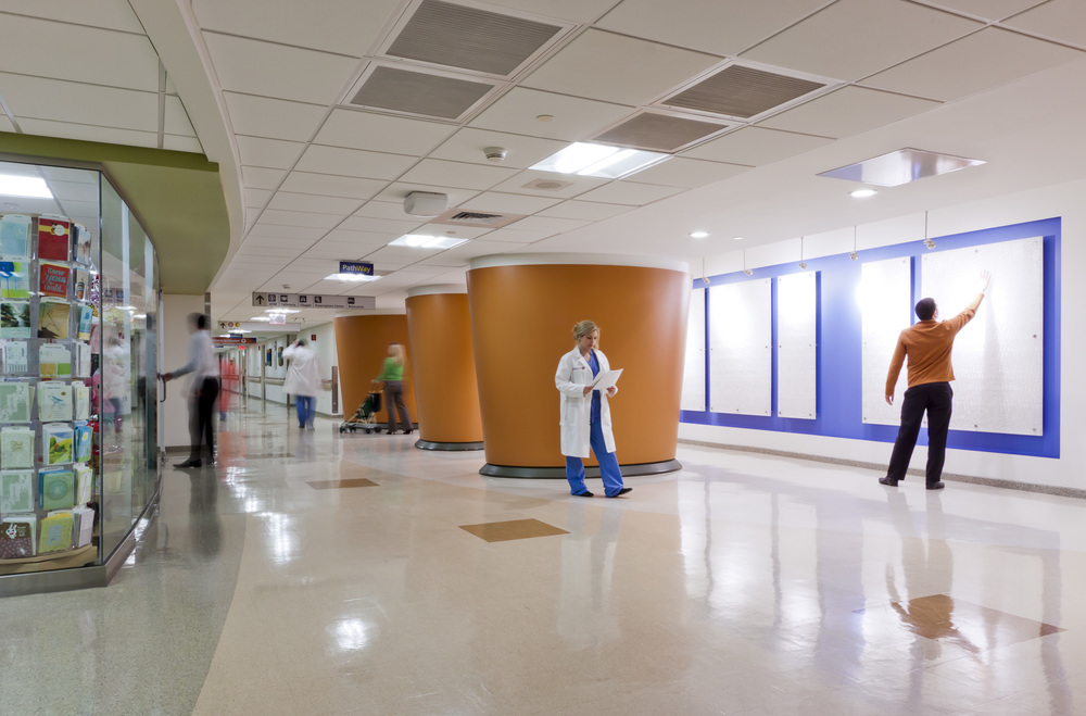 PATHWAY Project/Main Corridor Upgrades  UMass Memorial Medical Center, University Campus