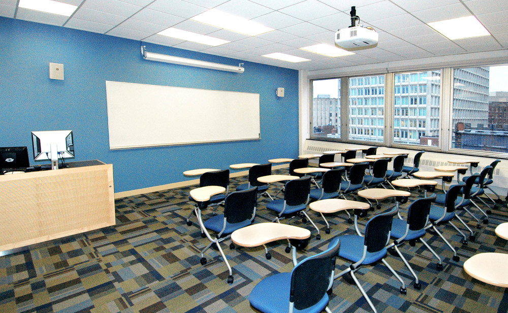 Classroom Upgrades  Suffolk University