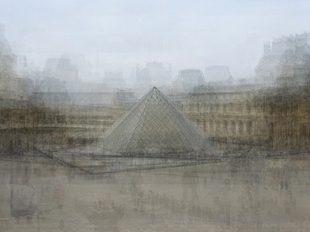 Louvre Pyramid, Paris by Corinne Vionnet