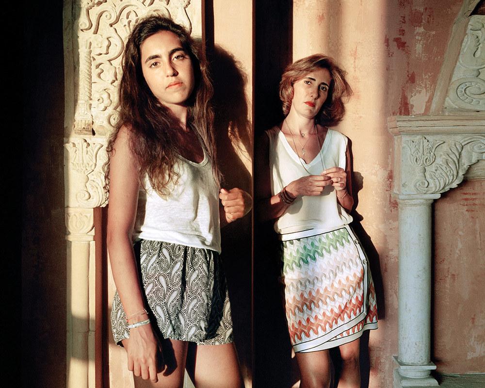 Nada and Kristy, Beirut Lebanon, 2014 by Rania Matar