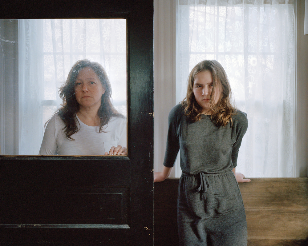 Paula and Heather, Arlington Massachusetts, 2014
