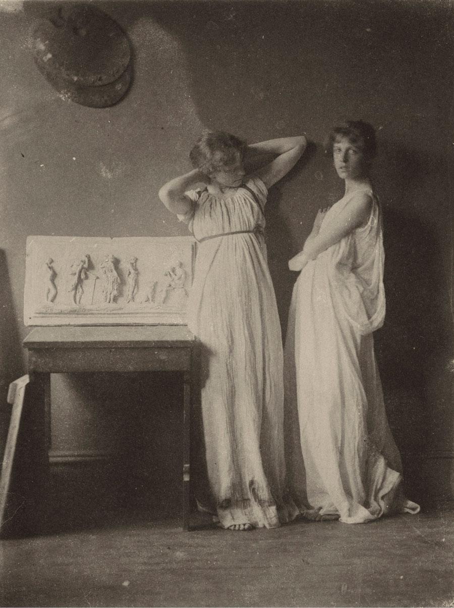 Thomas Eakins - Two Pupils in Greek Dress, 1880s