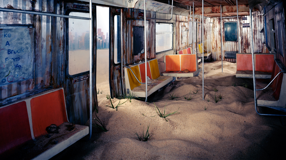 Subway, 2012 by Lori Nix