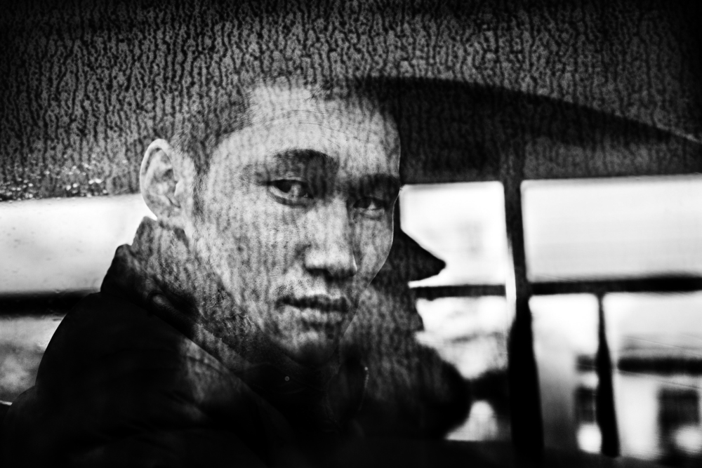 "Untitled #20 from the ""Arrivals and Departures"" Series by Jacob Aue Sobol"
