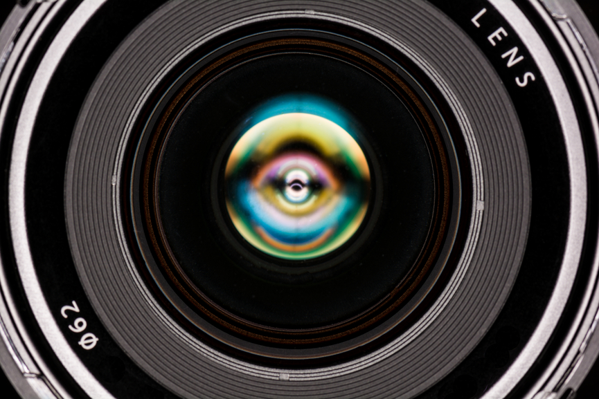 Copy of Front element of a camera lens