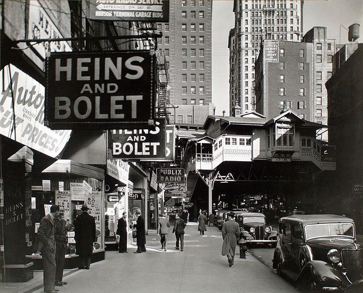Berenice Abbott - Radio Row - from Changing New York (1936-38)