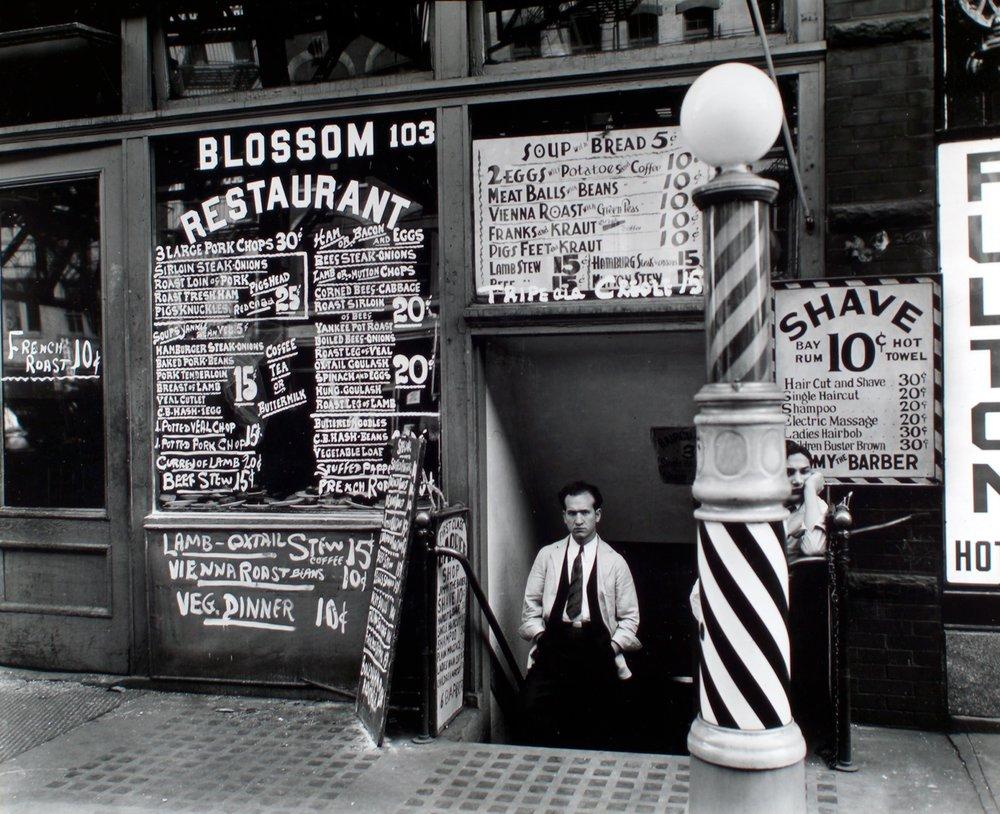 Berenice Abbott - 103 Bowery - from Changing New York (1936-38)