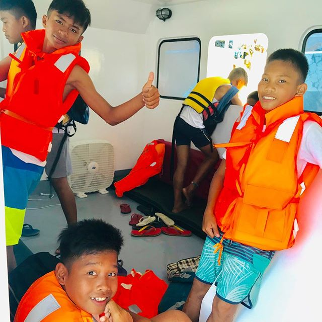 Our #humanility heroes are off to #capitancilloisland today to celebrate their school graduation!