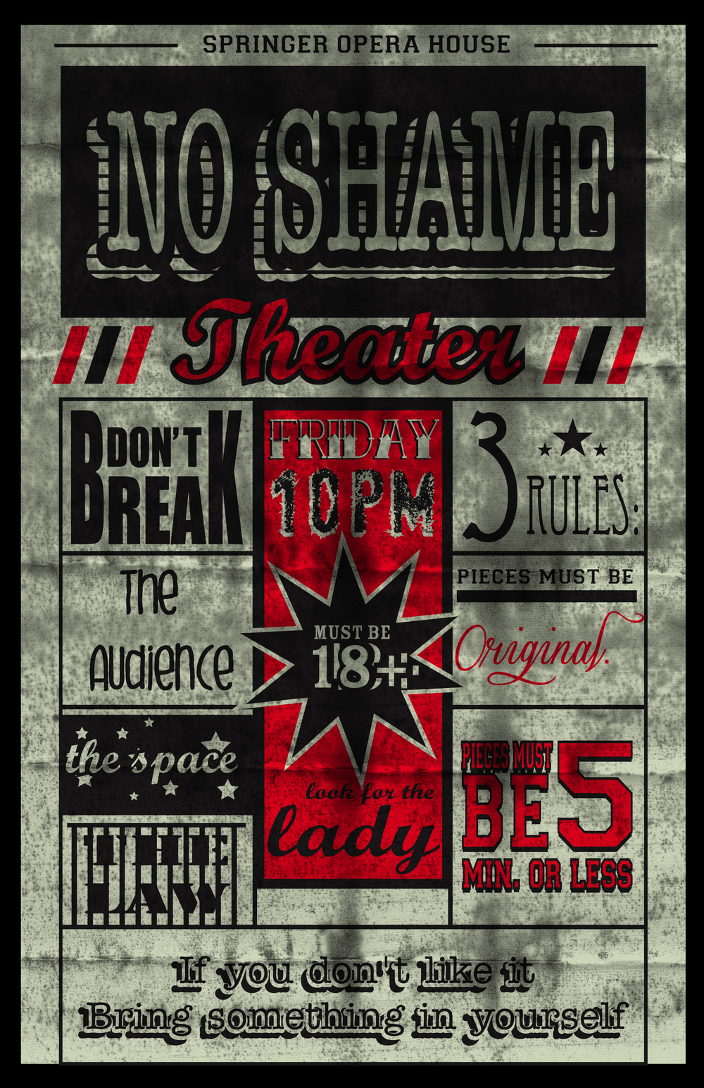 No Shame Theater