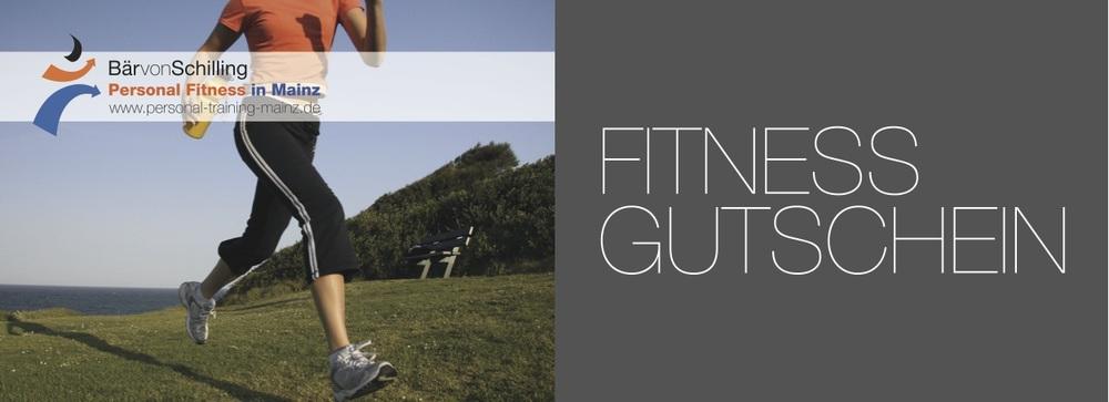 Gutscheine für Personal Training, Ernährungsberatung, Kettlebell Training