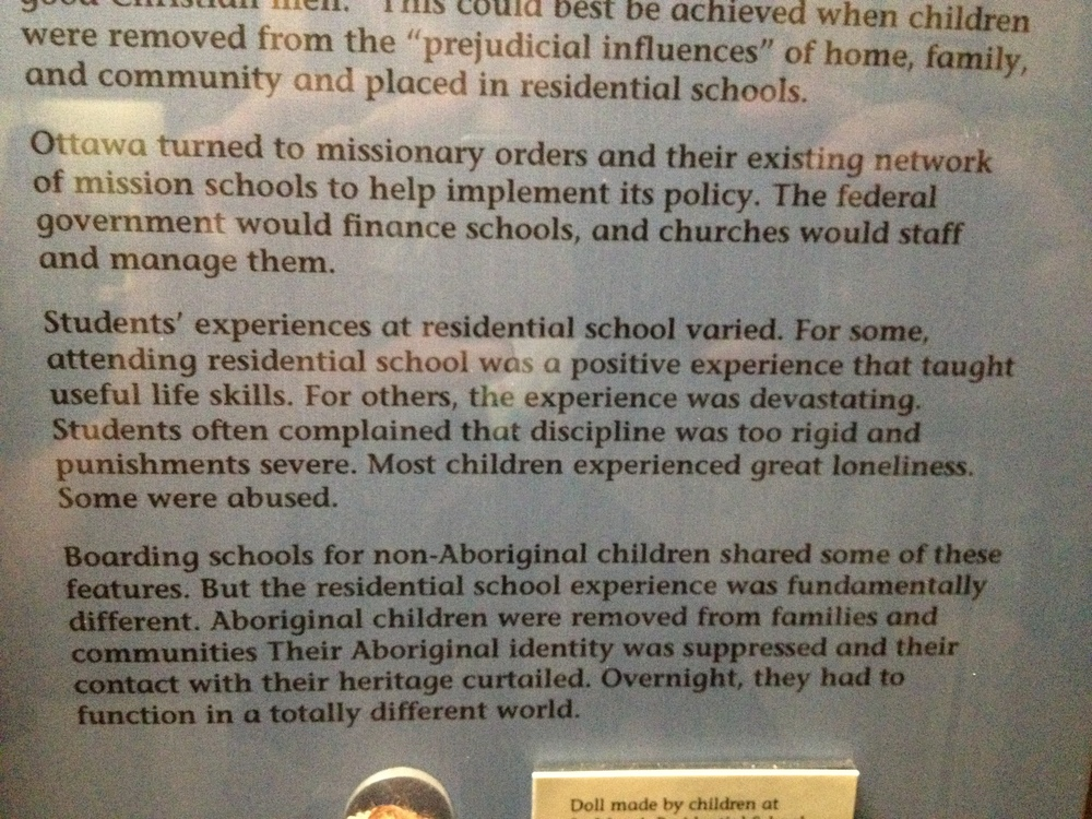 """For some, attending residential school was a positive experience that taught useful life skills."""