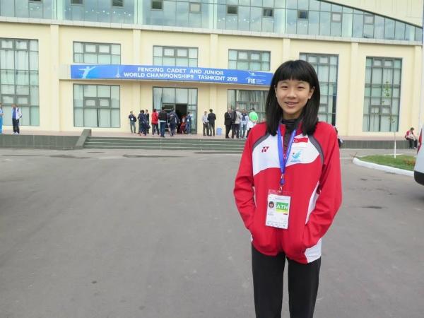 Ywen at the World Championships in Tashkent