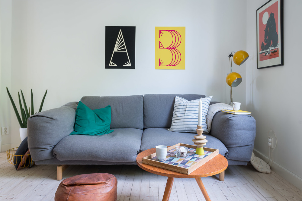 A type of bird posters used for home styling by Josefin Johannson Studio
