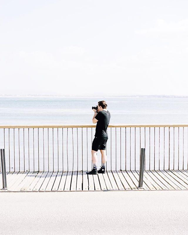 Lisbon 📍 . . . Waterfront stroll 🚶🏻📷
