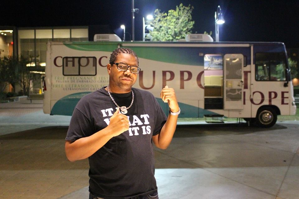 BoneHampton in front of Hope Mobile.jpg