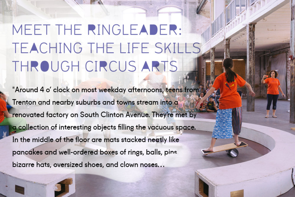 """Meet the Ringleader"" Article"