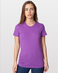 AMERICAN APPAREL 2102ORG:   4.3 oz., 100% organic fine jersey cotton