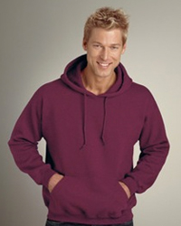 GILDAN 9500 PULLOVER:  9.5 oz., 80/20 cotton/polyester