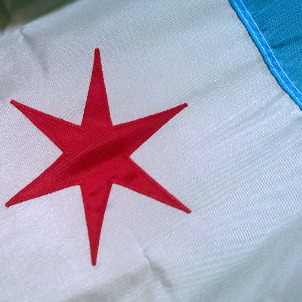 3'x5' Chicago Flag