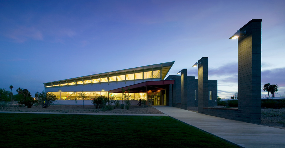 Martha Cooper Branch Library & Learning Center   Tucson, Arizona  |  Pima County   click for more photos