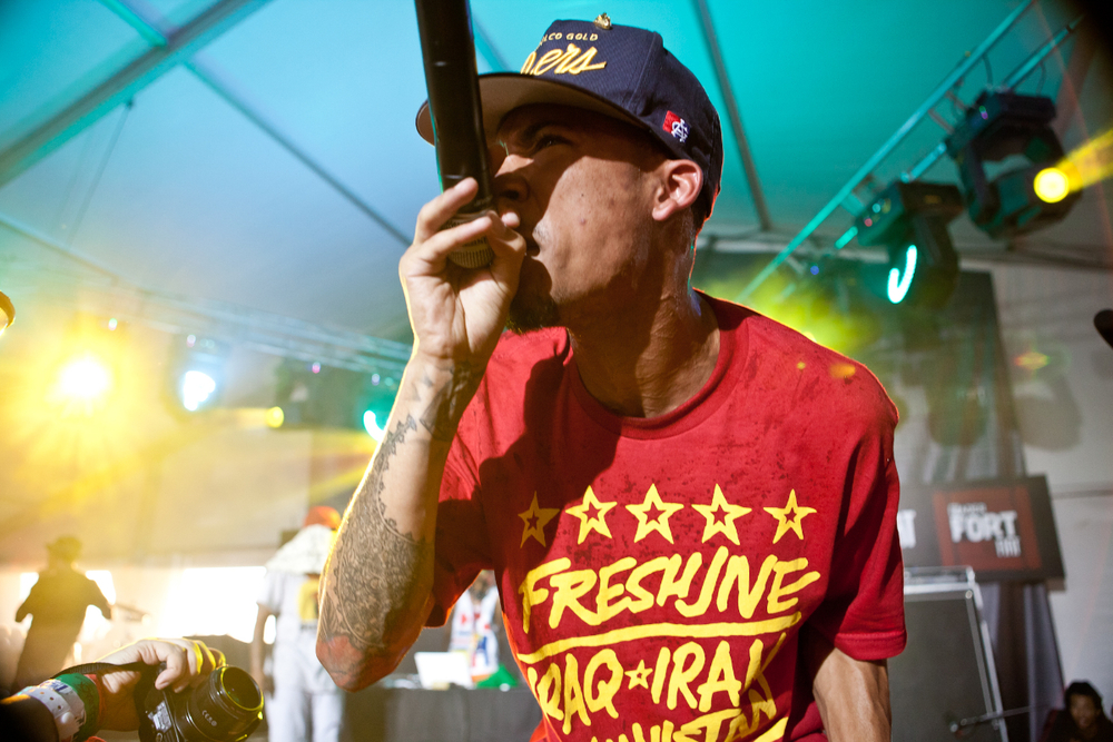 Hodgy Beats of OFWGKTA