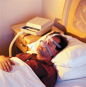 C-pap machines can help with sleep apnea.