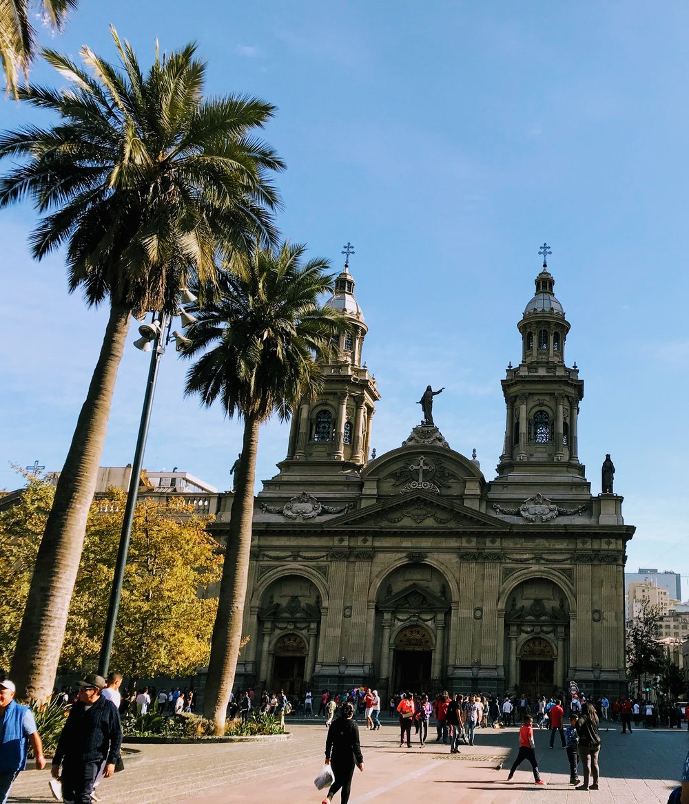Plaza de Armas in Santiago, Chile