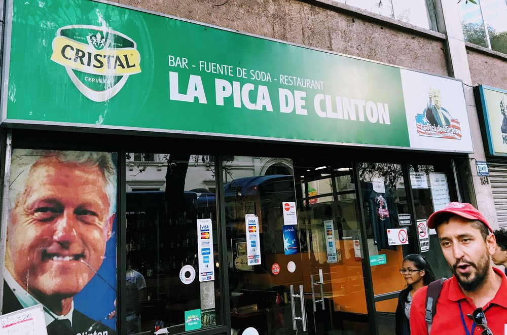 An entire restaurant dedicated to Bill Clinton