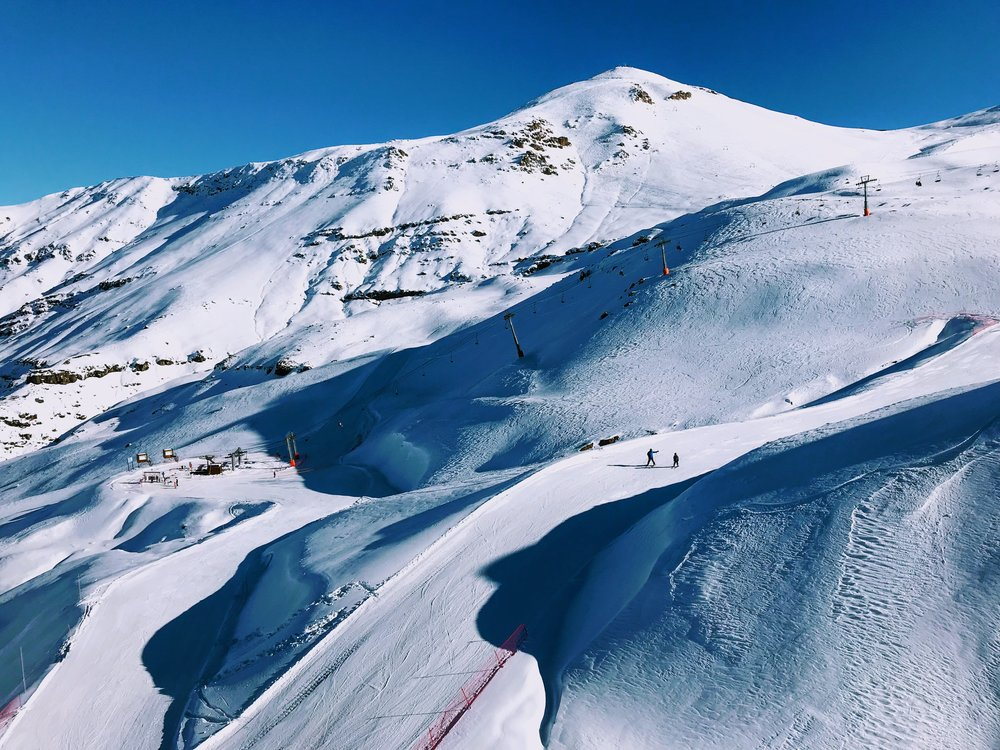 Valle Nevado Ski Resort in Santiago, Chile