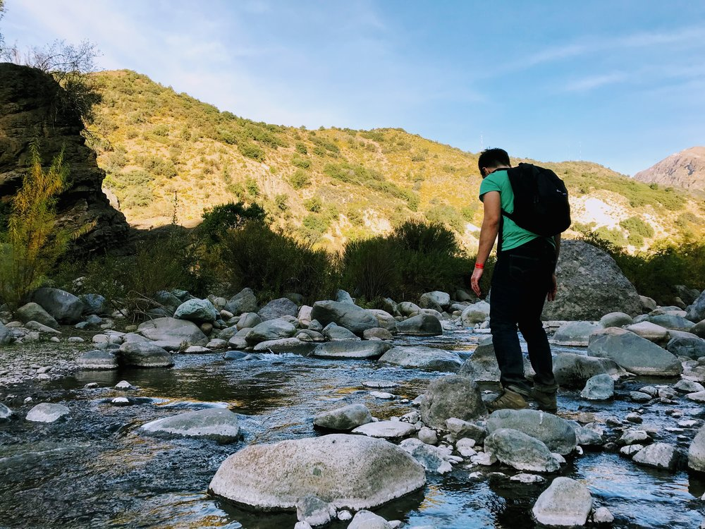 Reserva Coyanco in Cajon del Maipo, Chile