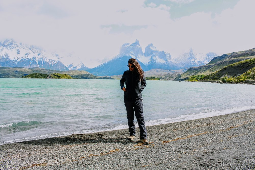 Lake Pehoe in Torres del Paine National Park