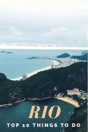 Rio de Janeiro Top 10 Things to do