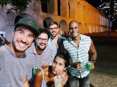 Lapa Arches Live Music Rio de Janeiro