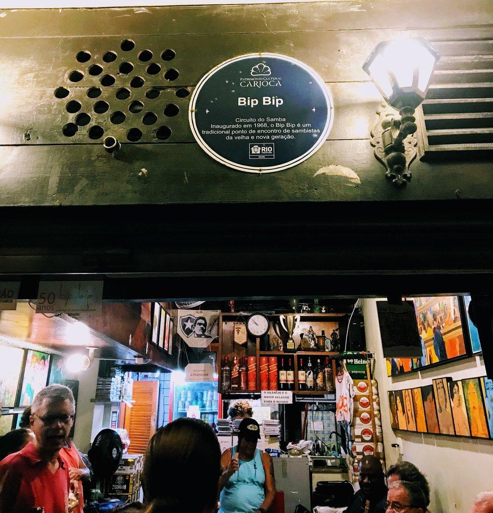 Bip Bip Bar in Rio de Janeiro