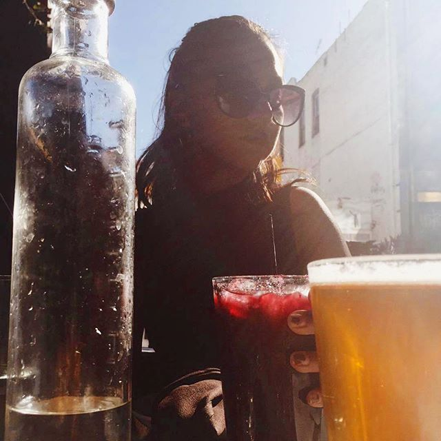 It's practically medicinal #blacksangria. 📷 @dreaordaz ・・・ sometimes a blackberry sangria does the trick 🍇#detox #themust #brunch #dtlaartsdistrict #eatlocal #dtla #bar #sundayfunday