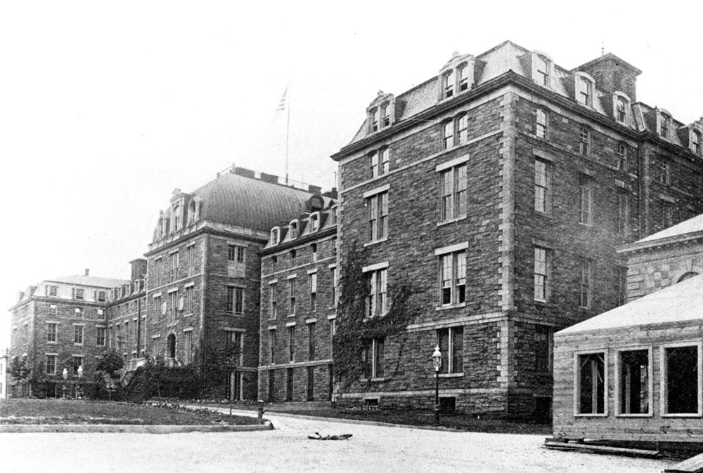 The City Hospital, which was later renamed Charity Hospital, was demolished in 1994, Library of Congress