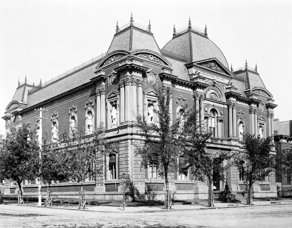 Historic exterior - Image courtesy Corcoran Gallery of Art Archives.jpg