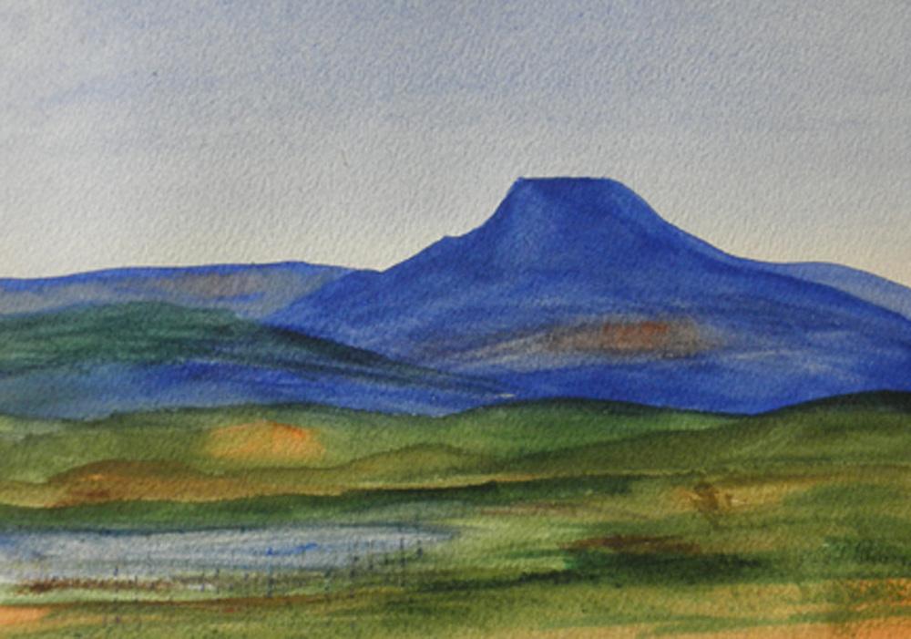 Pedernal: O'Keeffe's Mountain