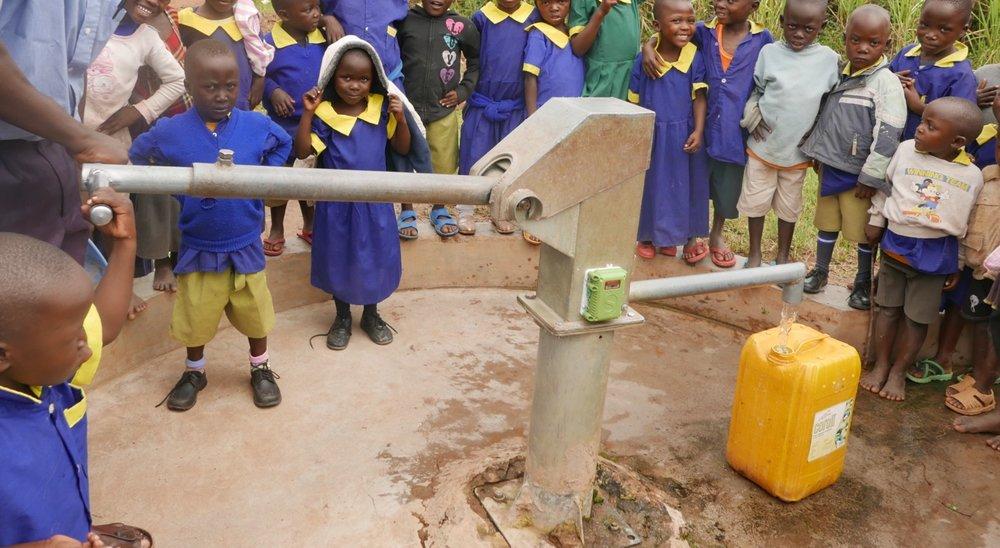 SweetSense  sensors deployed on rural hand pumps in Western Kenya
