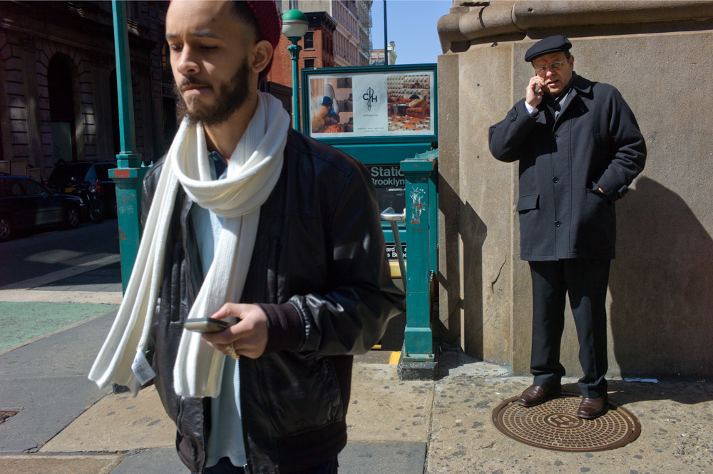 White Scarf, Broadway & Prince Street, New York 2011
