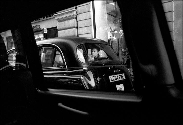 Taxi, Regent Street, London 2005