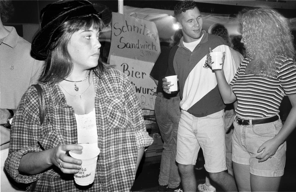 Schnitzel Sandwich, Louisville Straßenfest, 1994
