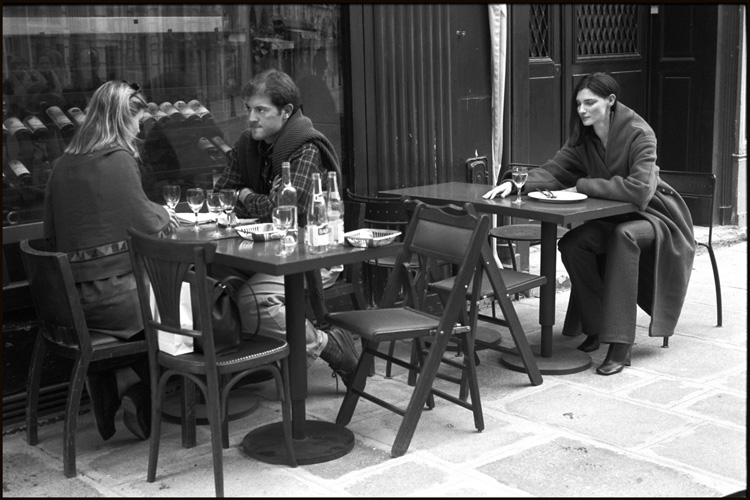 Place Dauphine, Paris, 1999