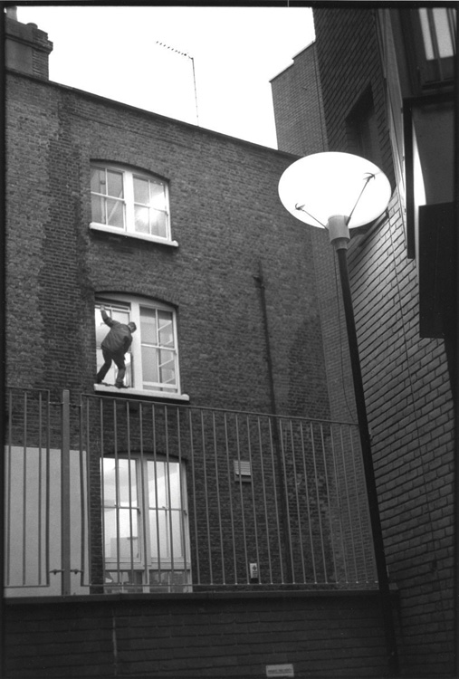 Second-story Man, Clerkenwell, London 2004