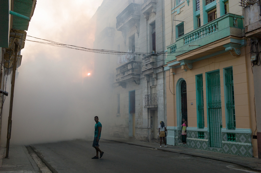 Fumigation, Havana, March 2016